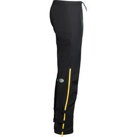 Y by Nordisk Horizon Pantalón de 2,5 Capas, negro/amarillo